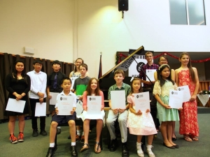 Receiving performance participation certificates