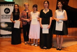 Finalists in the inaugural ACTKA Piano Competition